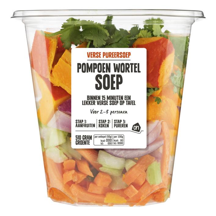 AH Verse pureersoep pompoen-wortel
