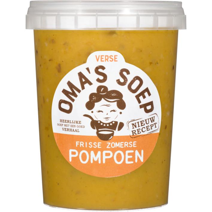 Oma's Soep Pompoen fris soep