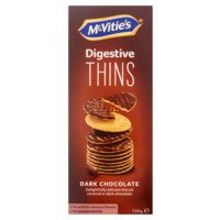 McVities Digestive thins dark