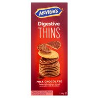 McVities Digestive Thins milk