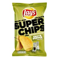 Lay's Superchips peper & zout