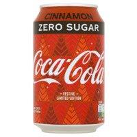 Coca-Cola Zero sugar cinnamon