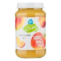 AH Biologisch Fruithapje appel-mango-perzik 6m