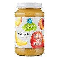 AH Biologisch Fruithapje appel-perzik-banaan 6m