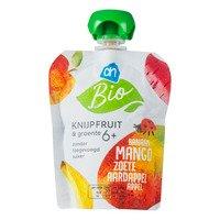 AH Biologisch Knijpfruit&gr mango zoete aardap 6m bio