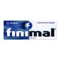Finimal Paracetamol/coffeïne 500/50 mg