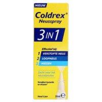 Hot coldrex 3in1 neusspray - bij verstopte neus