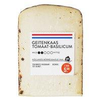AH Borrel geitenkaas tomaat basilicum 55+