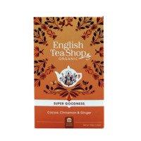 English Tea Shop Tea cocoa, cinnamon & ginger bio