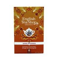 English Tea Shop Tea turmeric, ginger & lemongrass bio