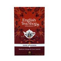 English Tea Shop Tea beetroot ginger & curry leaves bio