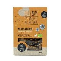 BioToday Mini snackers poppy seed tumeric