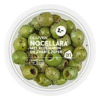 AH Nocellara olijven rozemarijn-peper