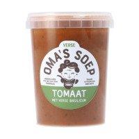 Oma's Soep Tomaat met basilicum