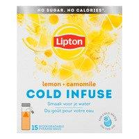 Lipton Cold infuse lemon & camomile