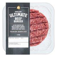 AH Excellent Ultimate beef burger
