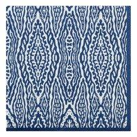 AH Servet ikat blauw 33 x 33 cm