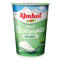 Almhof 0% vet yoghurt naturel