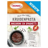 Honig Kruidenpasta macaroni en spaghetti